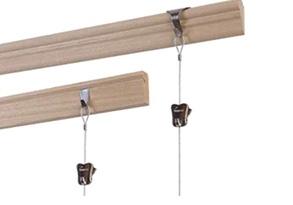 STAS wooden rails