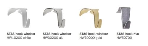 STAS hooks wooden rails