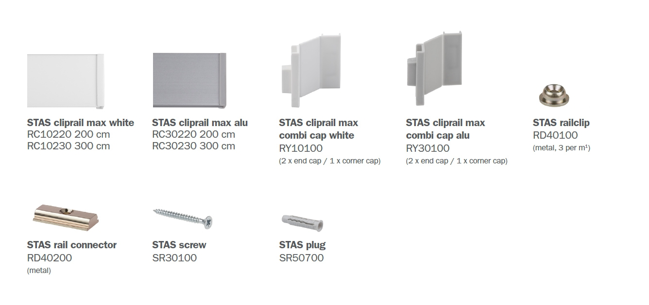 STAS cliprail max